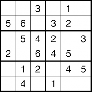 It's just a photo of Tactueux Sudoku for Kids Printable
